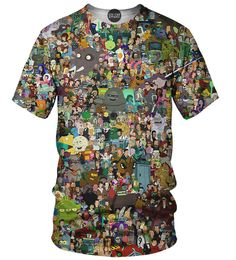 This fully sublimated all over print t-shirt reminds us of the super cool…