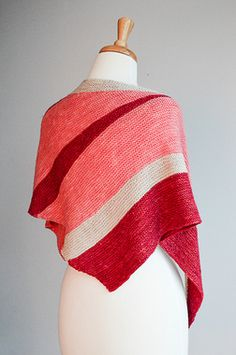 SweetGeorgia Sail Shawl Knitting Kit + Free Shipping!