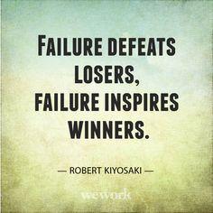 WeWork Inspirational Quote // Robert Kiyosaki