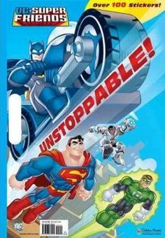 Unstoppable DC Super Friends Giant Sticker Book