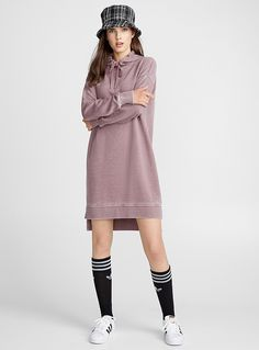 The trendiest Straight Dresses for women are all right here! Shop clothing from international brands and our own private labels. Straight Dress, Hoodie Dress, International Brands, High Neck Dress, Summer Dresses, Hoodies, Clothes For Women, Gift, Sweaters
