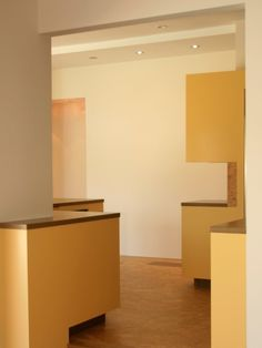 Resort Residence Even Incorporates Some Unusual Shaped Furniture Also Built Under Wall Units To Maximize Space Modern Residence with Bright Colors in Minimalist Interior