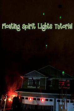 Floating Spirit Lights Tutorial ( Easy Project )