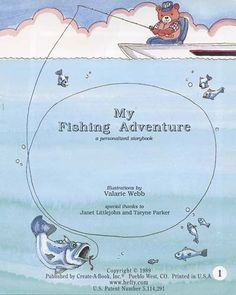 My Fishing Adventure is a children's book about the journey of a young bear who dreamed of winning a fishing contest. The story is personalized to make your child the main character, making this gift a keepsake and even more enjoyable.