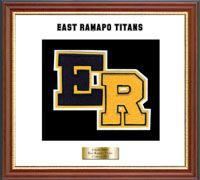 East Ramapo Titans Varsity Letter Frame