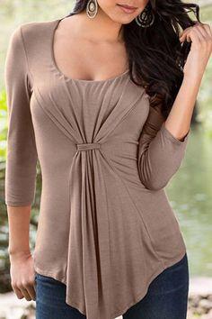 Loose Casual Top Long Sleeve Shirt
