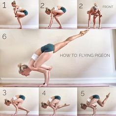 For today's Tutorial Tuesday I've picked an advanced arm balance for yo