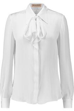 Silk-satin shirt | Emilio Pucci | 60% off | UK | THE OUTNET