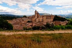 Urbino, Italy, with Palazzo Ducale