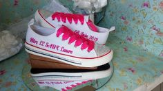 Personalised & customised Canvas Shoes, we provide high-quality Bridal Canvas Shoes, Birthday shoes, communion and confirmation shoes, personalised canvas shoes. Personalised canvas shoes for all occasions: Stunning personalised and customised Canvas Shoes for your perfect day! When it comes to custom canvas shoes, we do it best. Personalised Converse, Personalised Canvas, Custom Canvas, Your Perfect, Confirmation, Communion, Creative Design, Bridal, Birthday