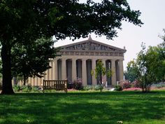 Centennial Park, Nashville.  This was a favorite spot for lunch when the weather was nice