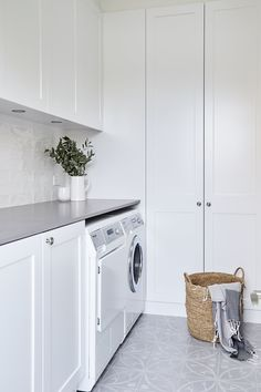 Laundry design, laundry area, laundry room cabinets, laundry in bathroom,. Outside Laundry Room, Laundry Nook, Laundry Room Cabinets, Laundry Room Organization, Laundry In Bathroom, Laundry Decor, Laundry Closet, White Laundry Rooms, Modern Laundry Rooms