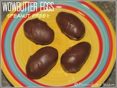 Housewife on a Mission: WOWButter Eggs for Easter! | Recipe #PeanutFree