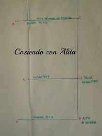Cosiendo con Alita: BASE DE BLUSA DELANTERA. Pattern Cutting, Pattern Making, Dress Patterns, Sewing Patterns, Diy Clothes, Clothes For Women, Bodice Pattern, Sewing Lessons, Fashion Sewing