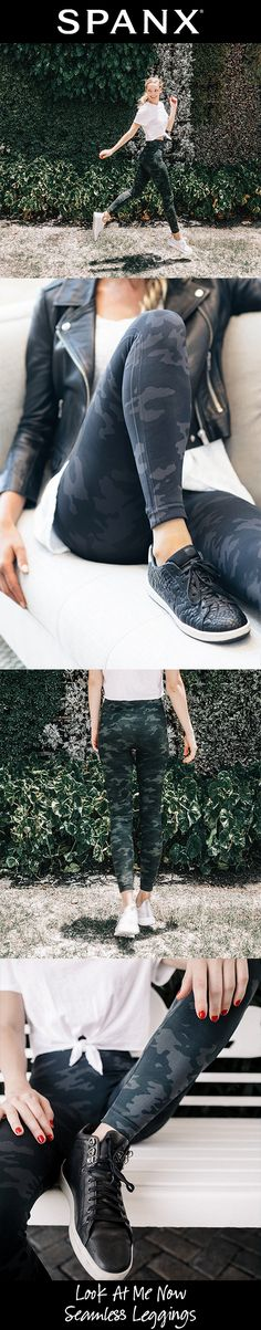 Shannon wants Camo I want Spanx leggings Size Med 6 Black CAMO Fall Winter Outfits, Autumn Winter Fashion, Spring Outfits, Casual Outfits, Cute Outfits, Fashion Outfits, Womens Fashion, Beautiful Outfits, Girly Outfits