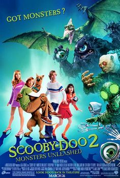 scooby doo movie poster | Scooby-Doo 2: Monstren är Lösa