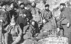 Andartiko, Greek resistance fighters (But it broke his heart as it broke the heart of every B. in Greece. ELAS set to work and smashed every other guerrilla organization it could get its filthy hands on. Greek History, Asian History, Tudor History, History Photos, British History, History Facts, Historical Women, Historical Photos, Greece Pictures