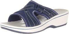 Clarks Womens Daisy Drift Sandals *** Unbelievable  item right here! : Slides sandals