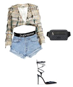 """""""don't look back in anger"""" by neua ❤ liked on Polyvore featuring Gucci and Carl Kapp"""