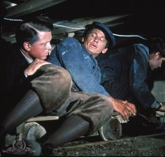 Still of Richard Attenborough and Charles Bronson in The Great Escape