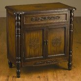 Found it at Wayfair - AA Importing 2 Drawer Cabinet with Carved Design