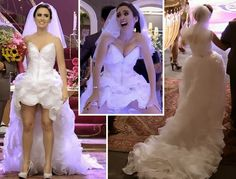 Vestido de Noiva da Valdirene - Novela Amor à Vida