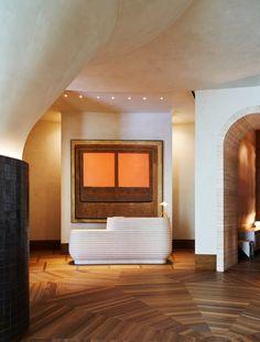 PROPER Hotel Santa Monica — ADRIAN GAUT Hillside Garden, Scandinavian Home, Santa Monica, Luxury Living, Interior Architecture, Kitchen Design, Stairs, House Styles, Home Decor