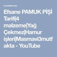 Efsane PAMUK PİŞİ Tarifi|4 malzeme|Yağ Çekmez|Hamur işleri|Masmavi3mutfakta - YouTube