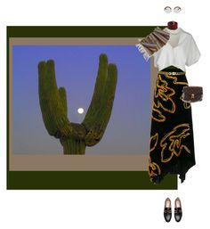 """""""Untitled #151"""" by ksmisk ❤ liked on Polyvore featuring Peter Pilotto, Vionnet, Chanel, Oliver Peoples and Louis Vuitton"""