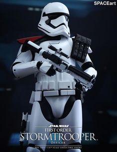 Star Wars: First Order Stormtrooper Officer, Deluxe-Figur (voll beweglich) ... https://spaceart.de/produkte/sw148.php