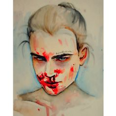 jana knauerova by Artistfucking on DeviantArt Halloween Face Makeup, Deviantart