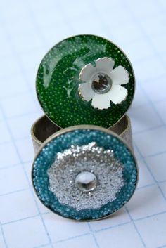 """Summer Social"" Guest Project — Make Embellished Resin Rings!!"
