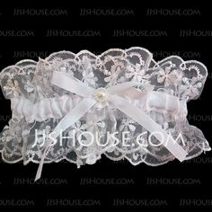 Pure Satin Organza With Bowknot Rhinestone Wedding Garters - JJsHouse White Wedding Garter, All White Wedding, Wedding Garters, Rhinestone Wedding, Wedding Looks, Fall Wedding, Diy Wedding, Wedding Gifts, Perfect Wedding