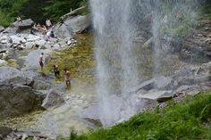 Upstate New York is flush with natural waterfalls, many of them making for prime swimming holes.