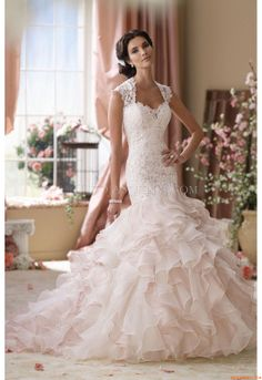 Vestidos de noiva Mon Cheri 114276 Crawley David Tutera 2014