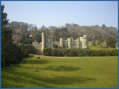 Caerhays Castle, Cornwall, UK Caehays was the location for Daphne du Maurier's Rebecca