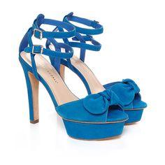 Loeffler Randall Dahlia Platform Sandal | Pumps | LoefflerRandall.com  #hitchedinLR #loefflerrandall -- fab something blue for my wedding day.