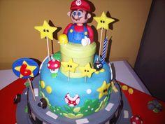 Torta de Mario Kart