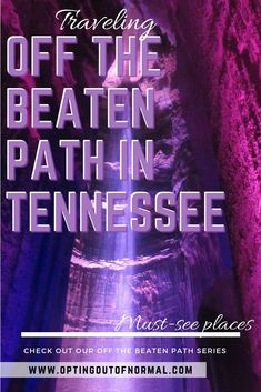 Traveling to Tennessee? If you want to find things to do that are unique and off the beaten path, take a look at our series where we choose a different state each week. Maybe a vacation in Nashville, and you still have some time to see something different Gatlinburg Tennessee, Tennessee Vacation, Tennessee Attractions, East Tennessee, Gatlinburg Camping, Tennessee Hiking, Nashville Vacation, Viewing Wildlife, Mountain Vacations