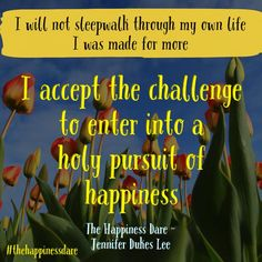 The Happiness Dare Jennifer Dukes Lee