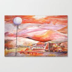 """""""tha"""" Stretched Canvas by Rachna Radar - $85.00"""