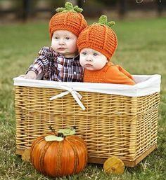 Pumpkin Hat Cap Baby Photography Prop outfit Fall October Halloween Costume Newborn Infant (newborn to 12 months)