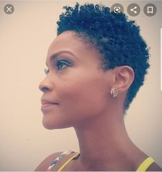 Styles for my mom Short Natural Styles, Natural Hair Short Cuts, Short Natural Haircuts, Short Sassy Hair, Short Hair Cuts, Short Twa Hairstyles, Tapered Natural Hairstyles, Tapered Hair, Tapered Twa