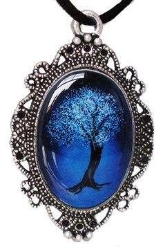 Inked Boutique - Tree Cameo Necklace Victorian Frame http://www.inkedboutique.com