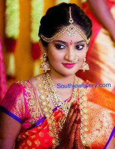 South Indian Jewellery: Diamond wedding jewellery