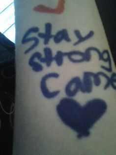 i love you cam stay strong @Cameron Daigle Obey