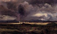 Arnold Bocklin, 'Campagna Landscape', 1857-58.
