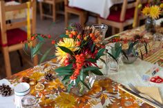A 1960s Vintage, Autumn And Sweet Scandinavian Inspired Wedding