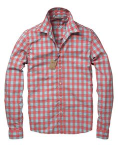 LONG-SLEEVED CHECKERED SHIRT in Dessin C by Scotch & Soda