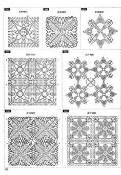 Foto: Crochet Snowflake Pattern, Crochet Square Patterns, Crochet Snowflakes, Crochet Squares, Crochet Motif, Crochet Shawl, Crochet Designs, Crochet Doilies, Crochet Flowers